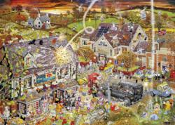 I Love Autumn Graphics / Illustration Jigsaw Puzzle