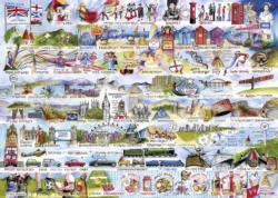 Cream Teas & Queuing Europe Jigsaw Puzzle
