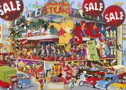 Lifting the Lid - Department Store Shopping Jigsaw Puzzle