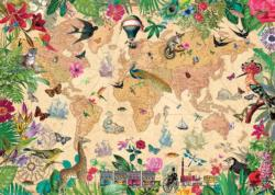 A World of Life Maps / Geography Jigsaw Puzzle