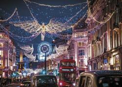 London Lights Night Jigsaw Puzzle