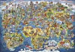 Wonderful World Maps / Geography Jigsaw Puzzle