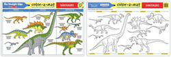 Dinosaurs Color-A-Mat Activity - Educational