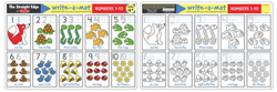 Numbers 1-10 Write-A-Mat Toy