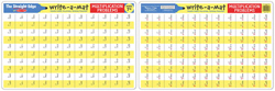 Multiplication Problems Write-A-Mat Activity - Educational