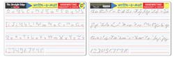 Handwriting Write-A-Mat Toy