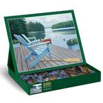 Lakeside Retreat Lakes / Rivers / Streams Jigsaw Puzzle