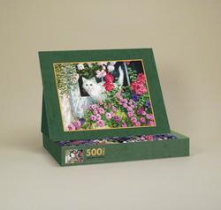 Summer Window Spring Jigsaw Puzzle