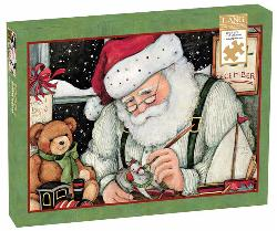 Santa's Workshop Christmas Jigsaw Puzzle