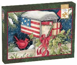 Holiday Mailbox Christmas Jigsaw Puzzle