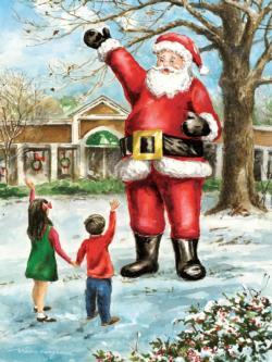 Friendly Santa Santa Jigsaw Puzzle