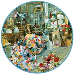 Circle of Antiquity Quilting & Crafts Jigsaw Puzzle