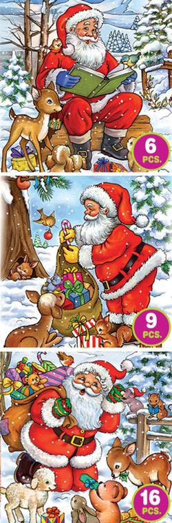 Santa Tales - Three Pack Christmas Jigsaw Puzzle