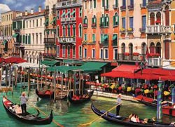 Venetian Vacation Travel Jigsaw Puzzle
