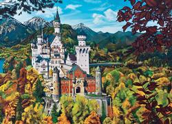 Neuschwanstein Castle Germany Jigsaw Puzzle