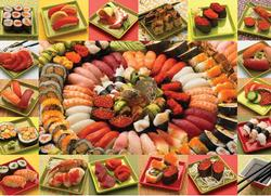 Plenty of Sushi Asia Jigsaw Puzzle