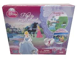 Playset Princess (Disney Pop Up Puzzle) Princess 3D Puzzle