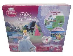 Playset Princess (Disney Pop Up Puzzle) Princess 3D Puzzle