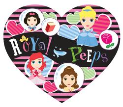 Royal Peeps Valentine's Day Shaped