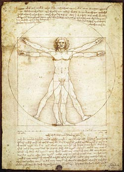 The Vitruvian Man Graphics / Illustration Jigsaw Puzzle