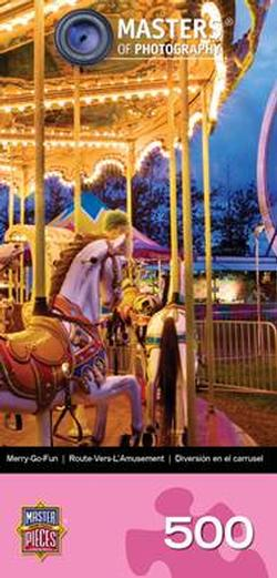 Merry Go Fun (Photography Space Savers) Photography Jigsaw Puzzle