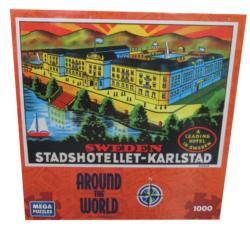 Sweden (Around the World) Europe Jigsaw Puzzle