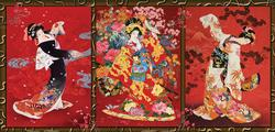 Oriental Trio People Jigsaw Puzzle
