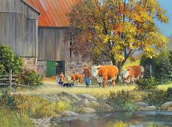 Cow Parade Cows Jigsaw Puzzle