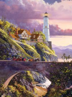 The Sentinel Bridge Lighthouses Jigsaw Puzzle