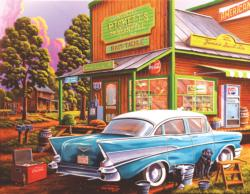 Aunt Sheila's Cafe Nostalgic / Retro Large Piece