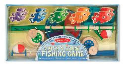 Catch & Count Magnetic Fishing Rod Set Educational Toy