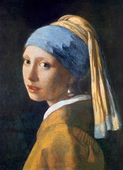 Girl with the Pearl Earring Portrait Jigsaw Puzzle