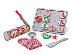 Slice & Bake Christmas Cookie Play Set Pretend Play Toy