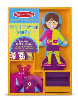 My Friend Molly Magnetic Dress-Up Pretend Play Toy