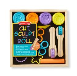 Cut, Sculpt & Stamp Clay Play Set Arts and Crafts