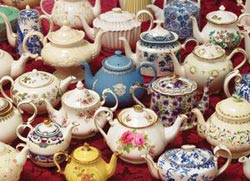 Teapots Mother's Day Jigsaw Puzzle