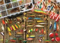 Fishing Lures Fishing Jigsaw Puzzle