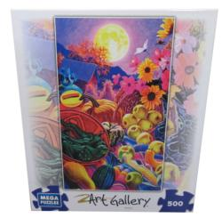 Moonlight Harvest (Art Gallery) Food and Drink Jigsaw Puzzle