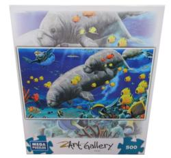 Mother and Child (Art Gallery) Marine Life Jigsaw Puzzle