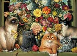 Boucat Flowers Jigsaw Puzzle