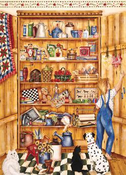 Pine Pantry Food and Drink Jigsaw Puzzle