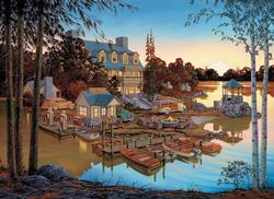 Edgewood Resort Lakes / Rivers / Streams Jigsaw Puzzle