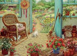 The Potting Shed Garden Jigsaw Puzzle