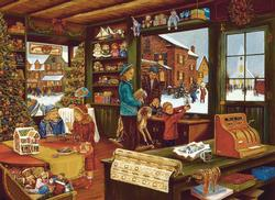 Last Shopping Day Christmas Jigsaw Puzzle