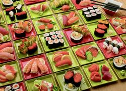 Sushi Sushi Sushi Food and Drink Jigsaw Puzzle