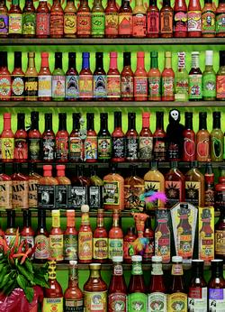 Hot Hot Sauce Food and Drink Jigsaw Puzzle