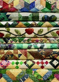 Grandma's Quilts Crafts & Textile Arts Jigsaw Puzzle