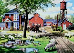 Farmyard Companions - Scratch and Dent Farm Animals Jigsaw Puzzle