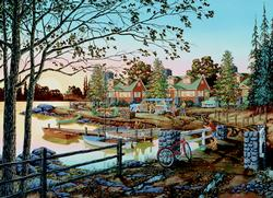 Away From it All Lakes / Rivers / Streams Jigsaw Puzzle