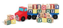 Alphabet Truck Blocks